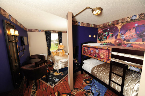 Alton Towers Resort Voyager Bedroom