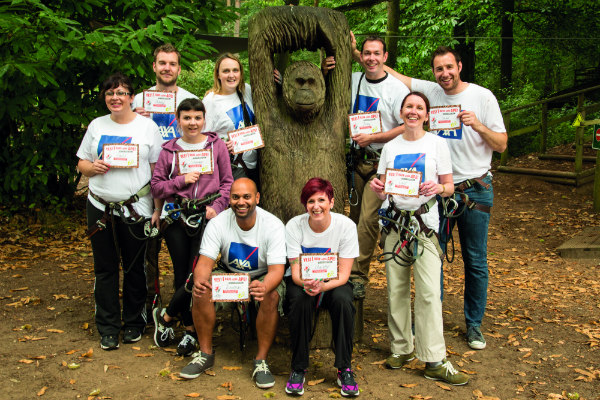 Teambuilding at Go Ape Cannock Chase