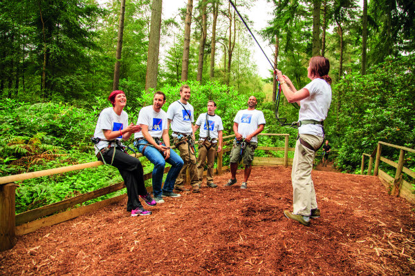 Go Ape Cannock Chase Teambuilding