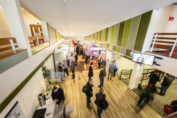 Keele University exhibition space