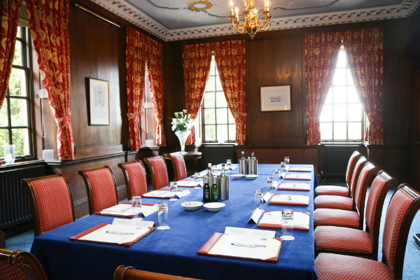 Boardroom at Swinfen Hall Hotel