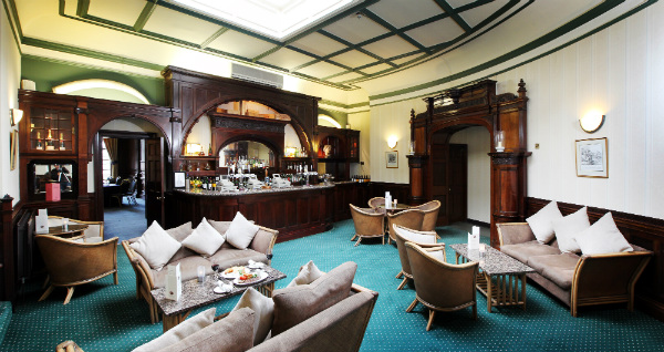 Lounge area at Swinfen Hall Hotel