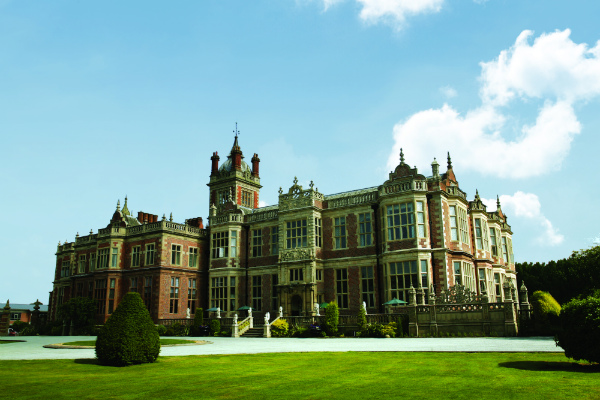 Crewe Hall from the grounds