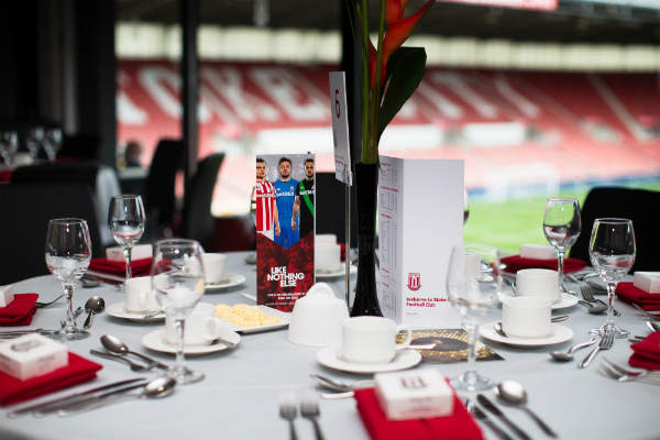 Matchday hospitality at the bet365 Stadium