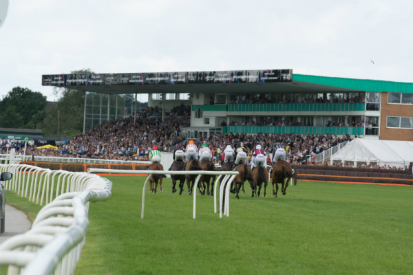 Raceday fixture at Uttoxeter Racecourse